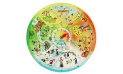 Beleduc - Puzzle éducatif - 4 saisons