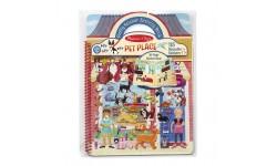 Melissa & Doug - Livre d'autocollants - Animaux domestiques