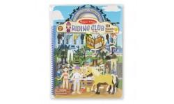 Melissa & Doug - Livre d'autocollants - Club équestre