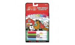 Melissa & Doug - Coloriage magique - La ferme