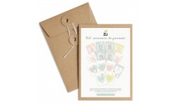 Zü - Kit souvenirs de grossesse - Lot de 14 cartes