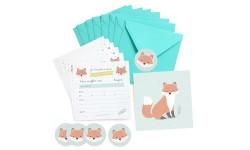 Zü - Lot de 8 cartes d'anniversaire + enveloppes