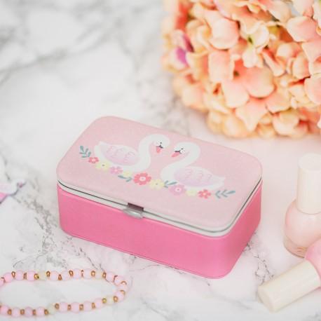 Boîte à bijoux cygne