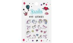 Snails - Autocollants pour les ongles