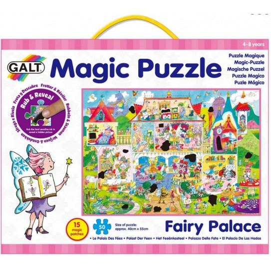 Puzzle magique - Le palais des fées