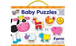 Puzzles pour bébé - La ferme