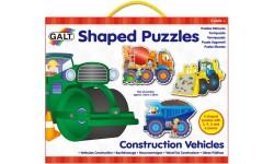 Puzzles détoures - Véhicules de construction