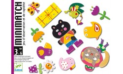 Djeco - Jeu de cartes MiniMatch