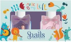 Snails - Pack de 2 vernis à ongles à base d'eau