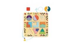 Djeco - Puzzle ludigraphic