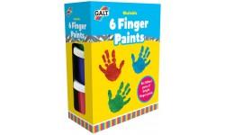 Peintures à doigts lavable