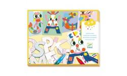 Djeco - Créer avec des formes lettres