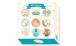 Djeco - 100 Stickers