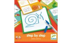 Djeco - Apprendre à dessiner - Step by step