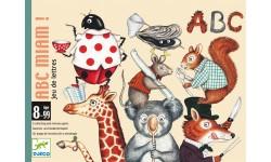 Djeco - Jeu de carte ABC Miam