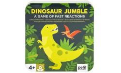 Petit collage - Jeu de carte Dinosaures jumble