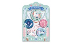 Djeco - Lovely badges