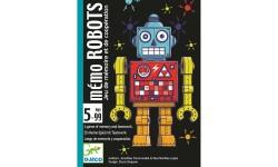 Djeco - Jeu de carte Mémo Robots