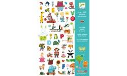Djeco - 1000 stickers pour les petits