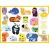 Djeco - Stickers en volume